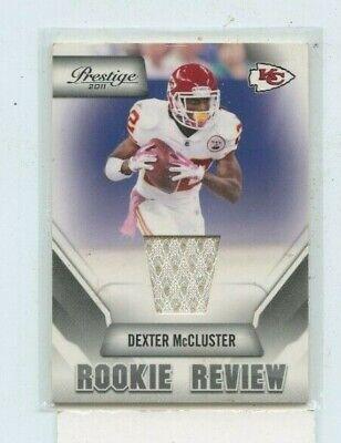 Dexter McCluster 2011 Panini Prestige Rookie Review Jersey Relic #13 | eBay