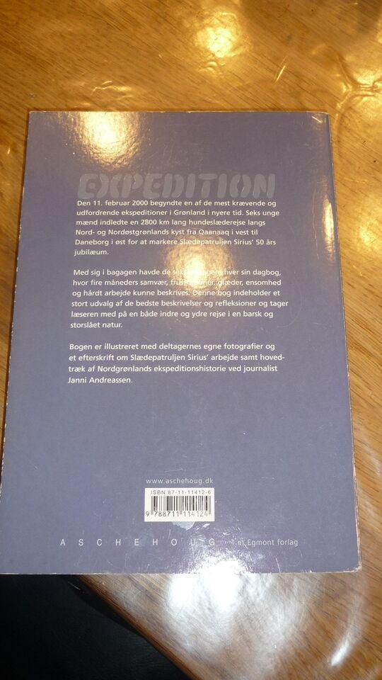 Expedition sirius 2000, emne: natur og teknik