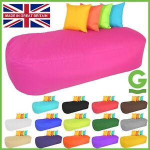 Giant-Bean-bag-5ft-Sofa-Bed-INDOOR-OUTDOOR-Beanbag-Beanbags-GARDEN-Lounger-Gilda
