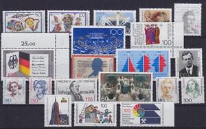 Federal Mi Núm 1417-1436 , Colección Rfa 1989 ,Perfecto Estado, MNH
