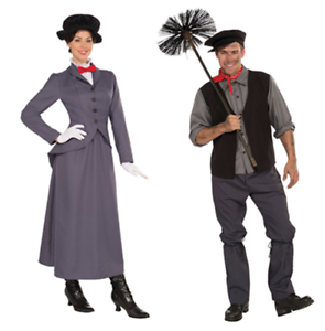 Mens-Chimney-Sweep-Ladies-Mary-Nanny-Poppins-Fancy-Dress-Costume-FAST-FREE-POST