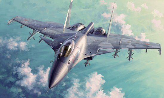 Trumpeter 1 72 Russian Su-33 Flanker-D