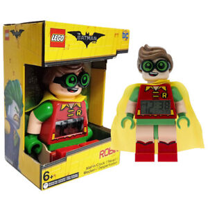 Lego-The-Batman-Movie-Robin-Electric-Digital-Alarm-Clock-Action-Figures-Doll-Toy