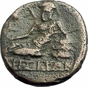 ODESSOS-in-THRACE-281BC-Authentic-Ancient-Greek-Coin-w-YOUTH-amp-GREAT-GOD-i62613