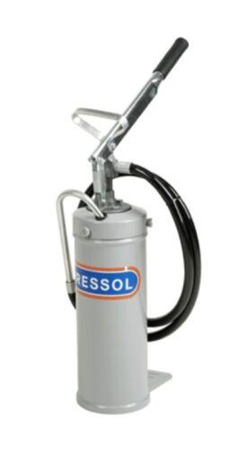 tragbar handbetrieben Ölabgabegerät mit 8 kg Behälter für Öle bis SAE 40