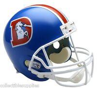 Denver Broncos Throwback Full Size Football Helmet