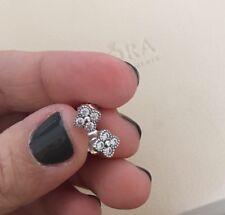 8bfc26c15 Genuine Authentic PANDORA Oriental Blossom Stud Earrings 290647CZ S925 ALE