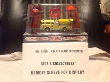 Code 3 FDNY Mack CF Pumper Engine 45 Fire Truck 12359