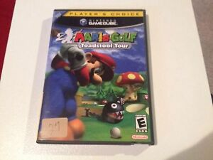 Mario-Golf-Toadstool-Tour-Nintendo-Gamecube-Complete-TESTED-FREE-SHIPPING