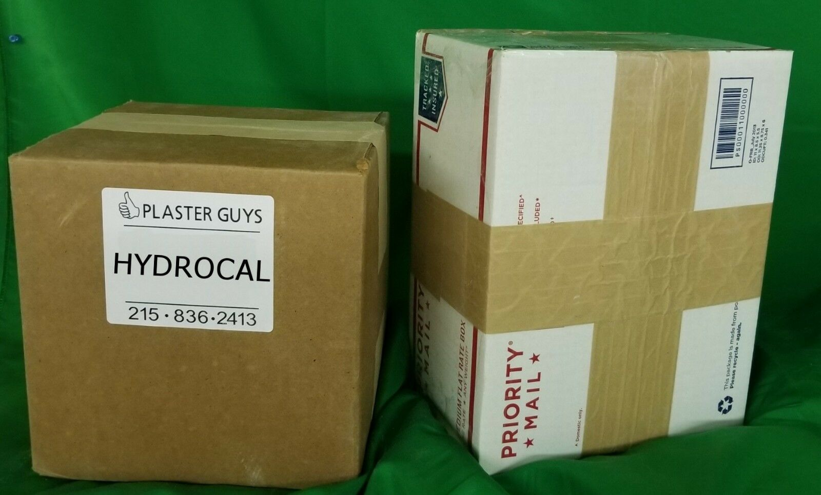 RAILROAD Hydrocal Plaster White - 38 Lbs  -  FREE  FAST SHIPPING