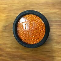 Lucas Rear Fender Reflector Fit Raleigh Bicycle Black & Amber Mint