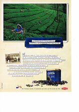 PUBLICITE ADVERTISING  2000   SIR THOMAS LIPTON  thé RUSSIAN EARL GREY