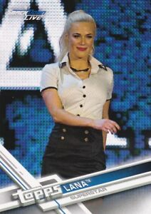 2017 Topps WWE then now Forever Walker, #153 lana 							 							</span>