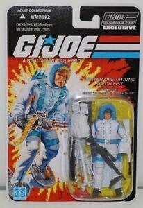 Club des collectionneurs Gi Joe Cobra Exclusivité FSS 6-07 Sub-zero Moc