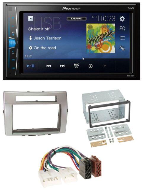 2-DIN Radioblende Toyota Corolla Verso Argent
