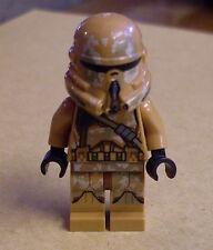 Lego Star Wars Geonosis Clone Trooper (75089 Klontrooper braun Camouflage)  Neu