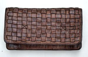 BEAR-DESIGN-Tasche-Geldboerse-L-brown-braun-Neu-cl-13995-Leder-gewaschen