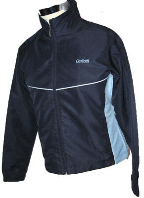 Carlotti Tracksuit Jacket Blue Full Zip Casual Womens Fitness Sports Top 10-14 Online Shop