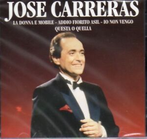 CD-JOSE-CARRERAS-VERDI-PUCCINI-BELLINI-OPERA-ARIAS-LA-DONNA-E-MOBILE-RECONDITA