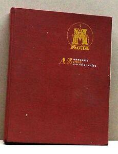 AZ-ANNUARIO-ENCICLOPEDICO-1954-Motta-libro
