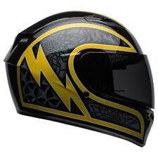 Bell Qualifier Scorch Motorcycle Helmet Gloss Black//Gold Flake LG