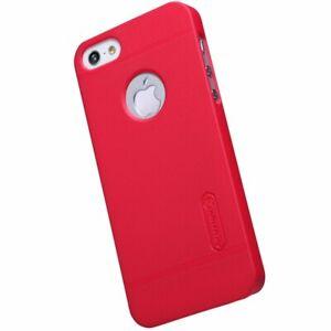 Nillkin-Super-givre-case-pour-Apple-iPhone-5-5-S-SE-protecteur-d-039-ecran-Rouge