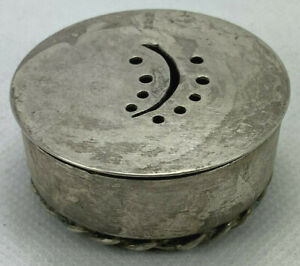 .925 Sterling Silver Spice Box
