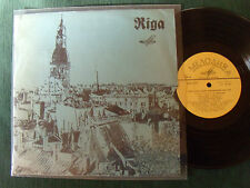 "RIGA - Latvian mixed Choir  - 10"" 25 cm LP MELODIYA 23521/22 LATVIA - 12 tracks"