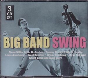 BIG-BAND-SWING-VARIOUS-ARTISTS-on-3-CD-039-s-NEW