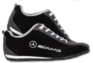 Details zu MERCEDES AMG Schuhe Neu Herren Bestickt Kleidung Fan Sport Shoes