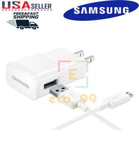 "5ft Cable Original Samsung Galaxy Tab A 10.1 3 4 7.0 8.0 S2 9.7/"" Wall Adapter"