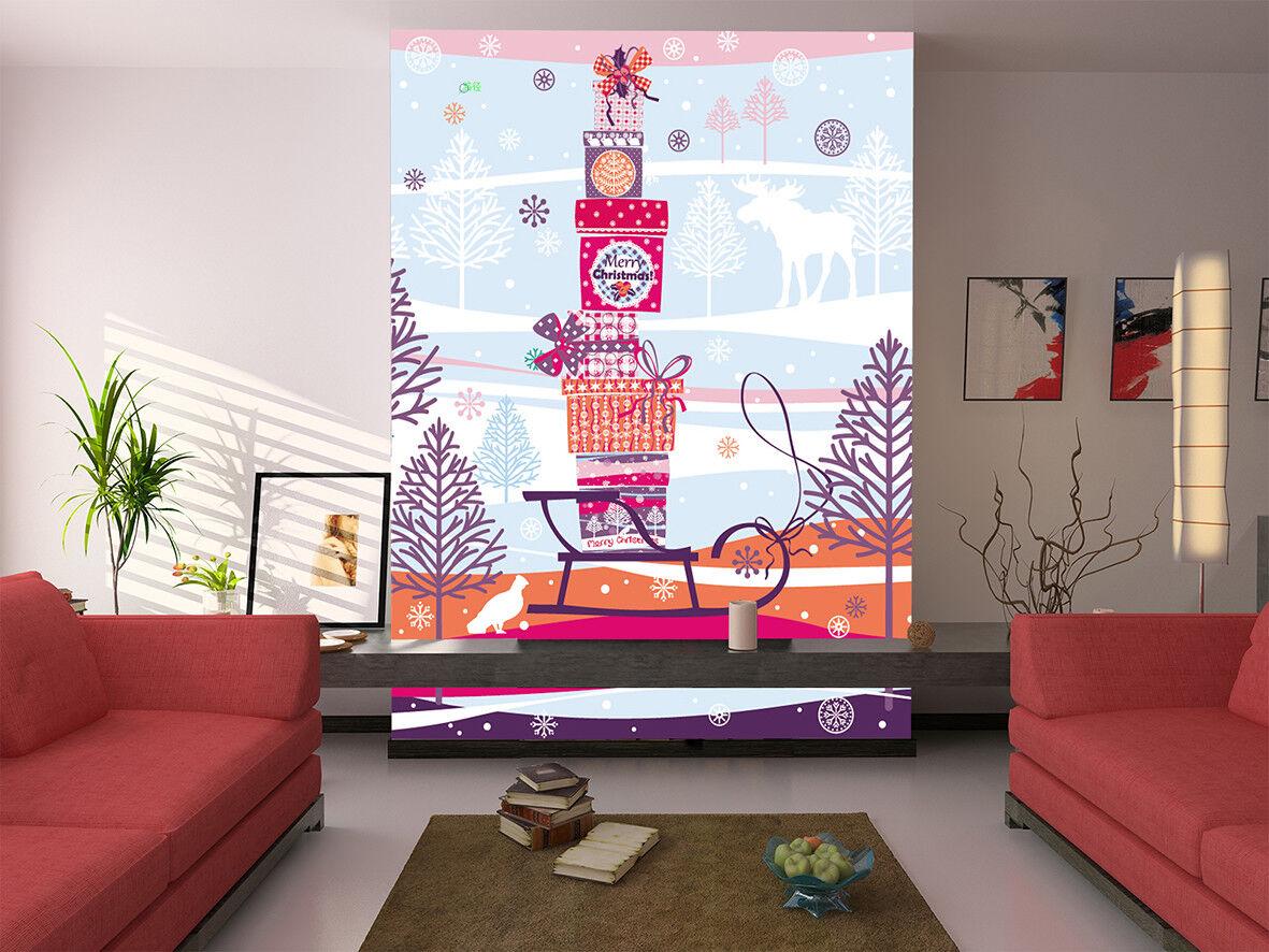 3D Sweet Gift Style 86 Wall Paper Murals Wall Print Wall Wallpaper Mural AU Kyra