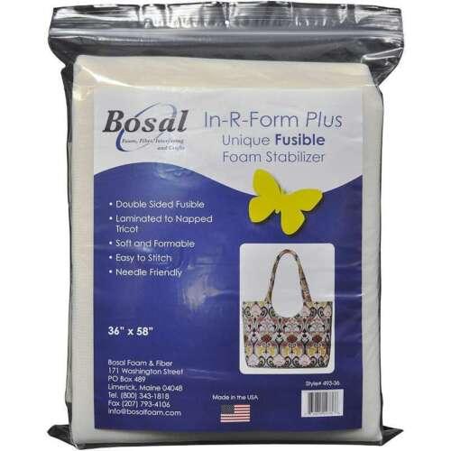 """In-R-Form Plus Unique Fusible Foam Stabilizer 36/""""X58/"""" 834875493366"""