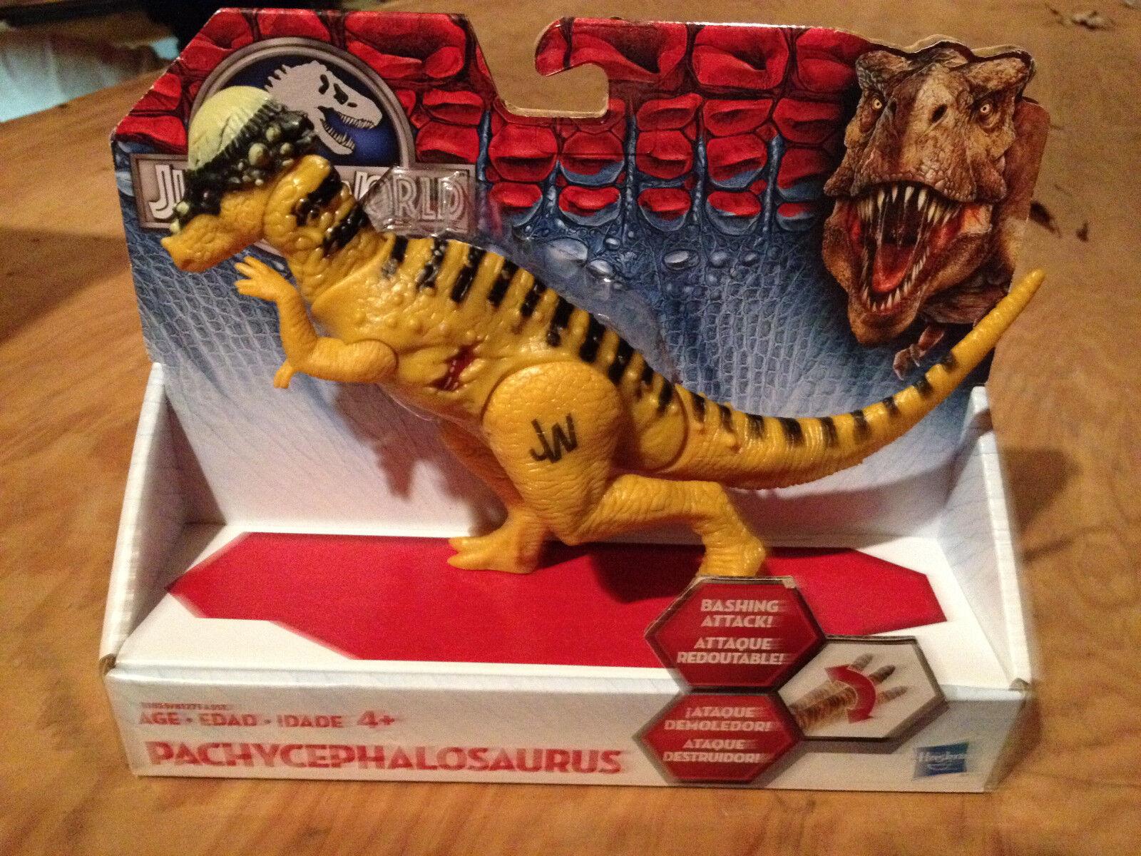Jurassic World  Pachycephalosaurus  Bashers & Biters Dinosaur  Light Wear