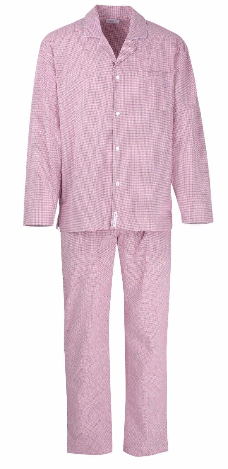 Baldessarini Herren Schlafanzug Pyjama kariert 95010 424