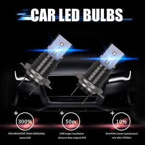 2X-H7-LED-110W-6000K-Ampoules-Voiture-Kit-Feux-Phare-Anti-Lampe-Xenon-30000LM