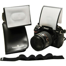 LumiQuest Mini Lighting Kit - Mini Softbox, Soft Screen & Mounting Strap LQ-145