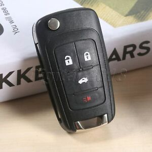 1X-Remote-Control-Key-Fob-4BTN-433MHz-With-ID46-Fit-For-2011-2012-203-2014-Cruze