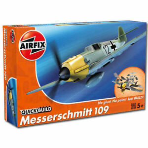 AIRFIX-Quickbuild-Messerschmitt-Me109-Model-Kit-BNIB