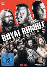 WWE Wrestling DVD - ROYAL RUMBLE 2015 tna ecw wcw wwf roh czw iwa nxt nwo dwa dx