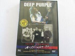 Deep-Purple-Total-Abandon-Australia-039-99-DVD-NTSC-ALL-Regions