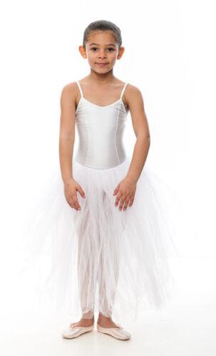 Girls Ladies White Romantic Ballet Dance Tutu All Sizes By Katz Dancewear