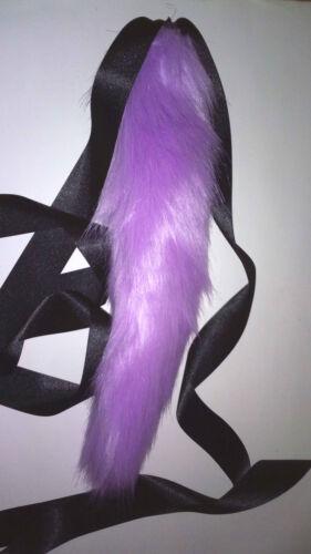 37cm Kitten Cat Tail with Ribbon Tie for Fancy Dress.