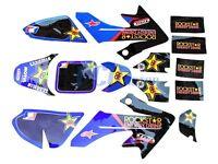 Rockstar Graphics Decals & Plastic Kit Honda Crf50 Sdg 107 U De45+