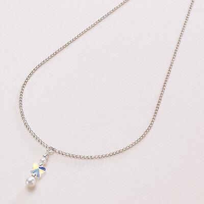 Fashion Jewelry Helpful Schmetterling Halskette Mit Perle & Kristall,braut Oder Brautjungfer Versilberte Rich In Poetic And Pictorial Splendor