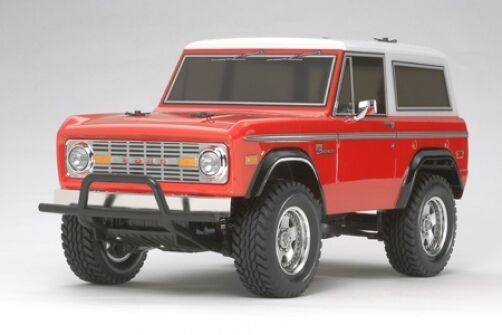 TAMIYA 58469 FORD BRONCO CC01 RC Kit-Accordo Bundle con steerwheel Radio