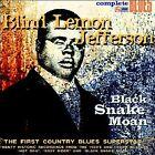 Black Snake Moan [Digipak] by Blind Lemon Jefferson (CD, Mar-2004, Snapper)