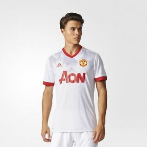 705b39934 New Adidas Manchester United Home Pre-Match Jersey BP9205 Size S~L ...