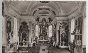 54083-Foto-AK-Lenggries-Pfarrkirche-Inneres-nach-1945