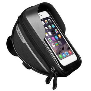Touchscreen-MTB-Road-Bike-Fron-Frame-Bag-Waterproof-Phone-Holder-Hard-Shell-Bag